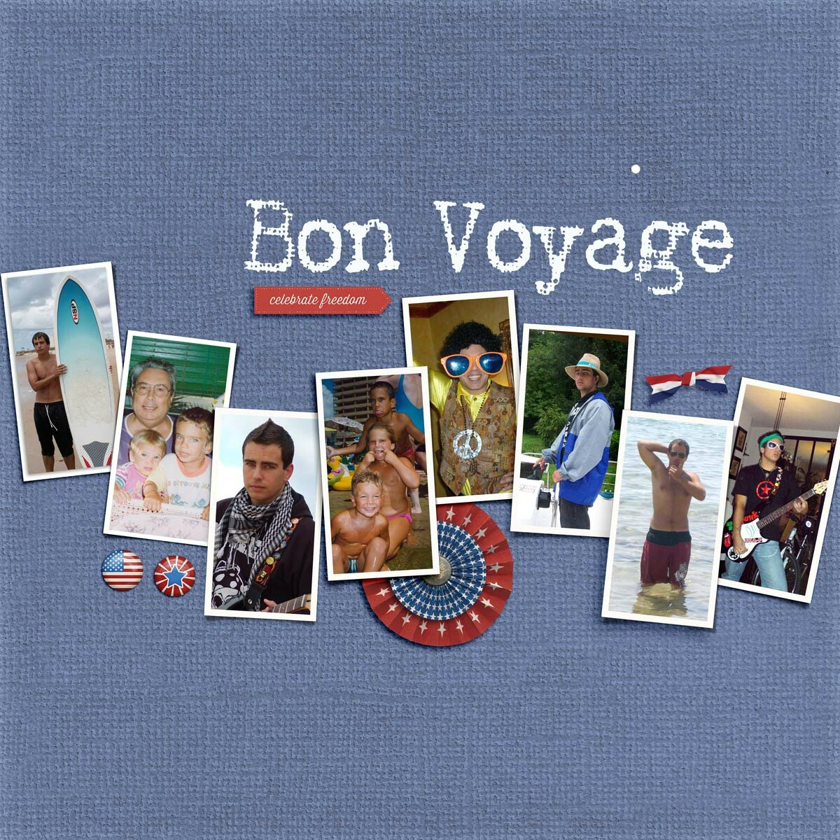 Celebrate Freedom (Bon Voyage)