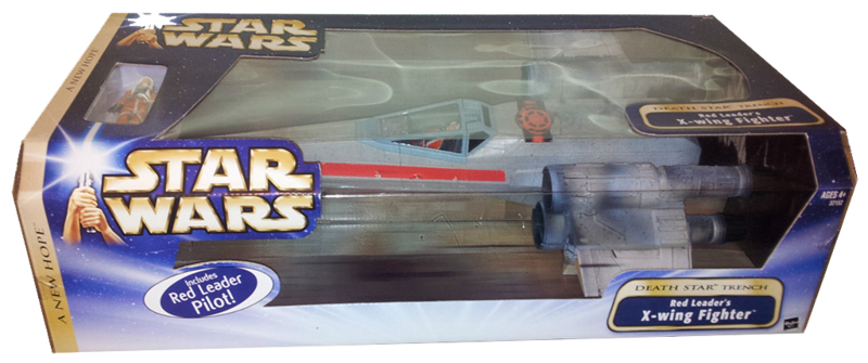 red leader box front