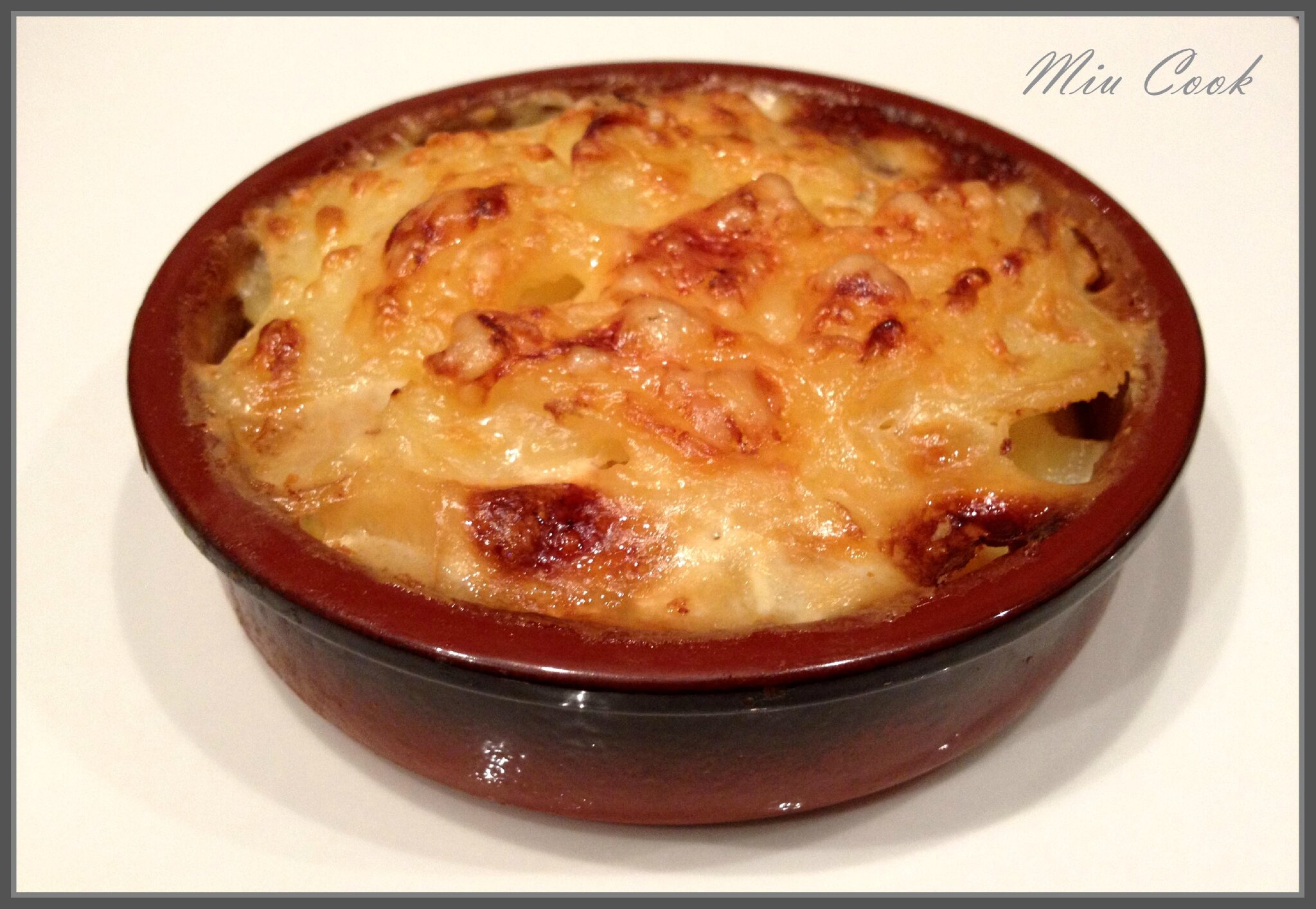 gratin dauphinois miu cuisine et recettes. Black Bedroom Furniture Sets. Home Design Ideas