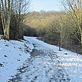 Valjoly - balade hivernale autour du lac