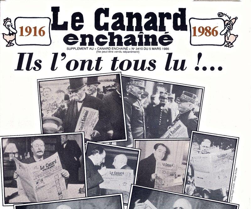 Canard 70 ans