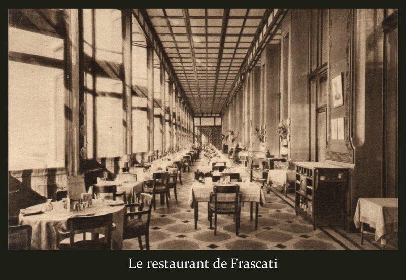 Restaurant Frascati