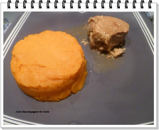 purée de patates douces1