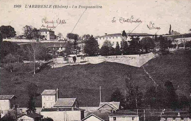 Le lieu des Collonges (Champ d'asile, Couvent des Ursulines, Pouponnière, Clos landar)...avec réintégration des commentaires