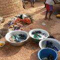 La lessive à Bissiguin, village de Sabcé