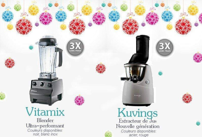 Blender Vitamix ou Extracteur de Jus Kuvings