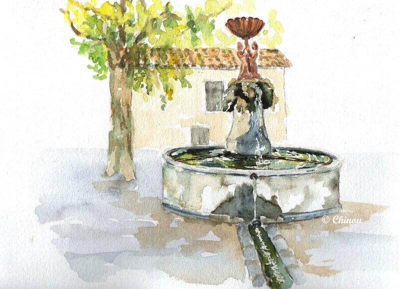 Montolieu Fontaine