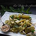 Salade de haricots verts à la thaïe