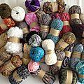Nouveaux fils à broder, tricoter ou crocheter