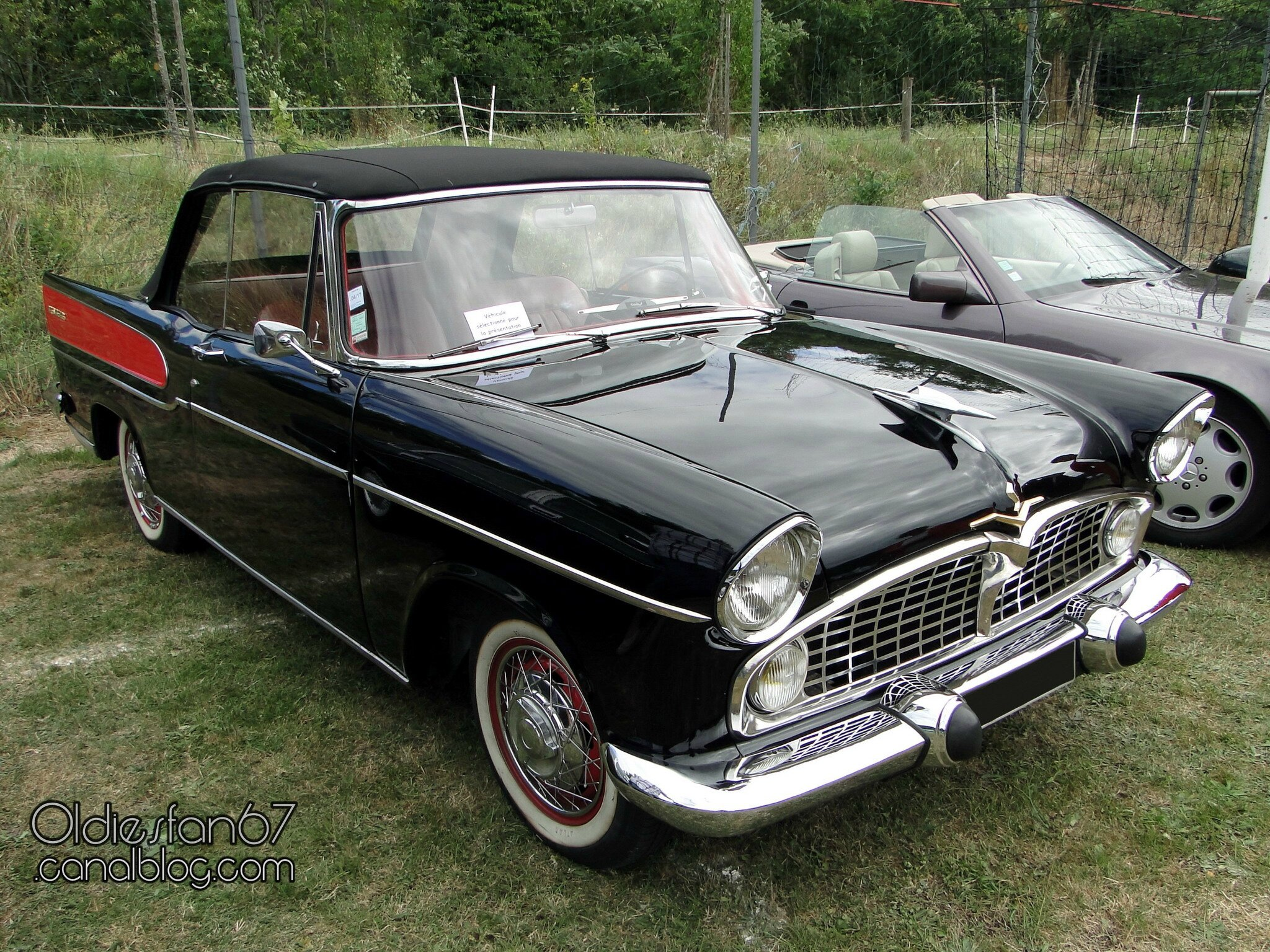 simca vedette chambord cabriolet 1958 oldiesfan67 mon blog auto. Black Bedroom Furniture Sets. Home Design Ideas
