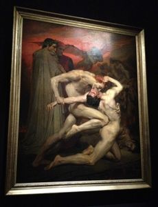 L'ange du Bizarre, le romantisme noir- William Bouguereau, Dante et Virgile
