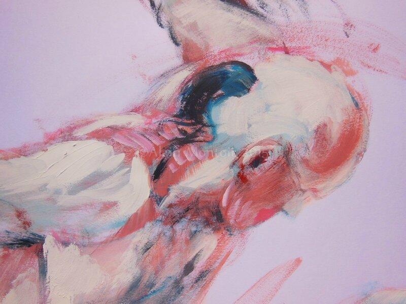 tableaux de nus homme dessin peinture (17)