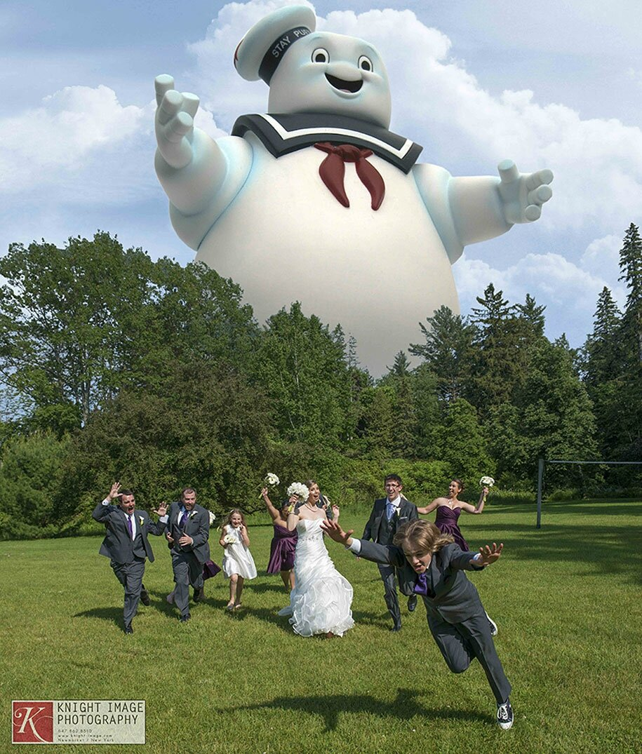 Ghostbusters Wedding