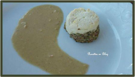 mousseline de volaille aux champignons foie gras3