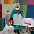 Les collectes du tricot solidaire en septembre et octobre 2012 : les poupées