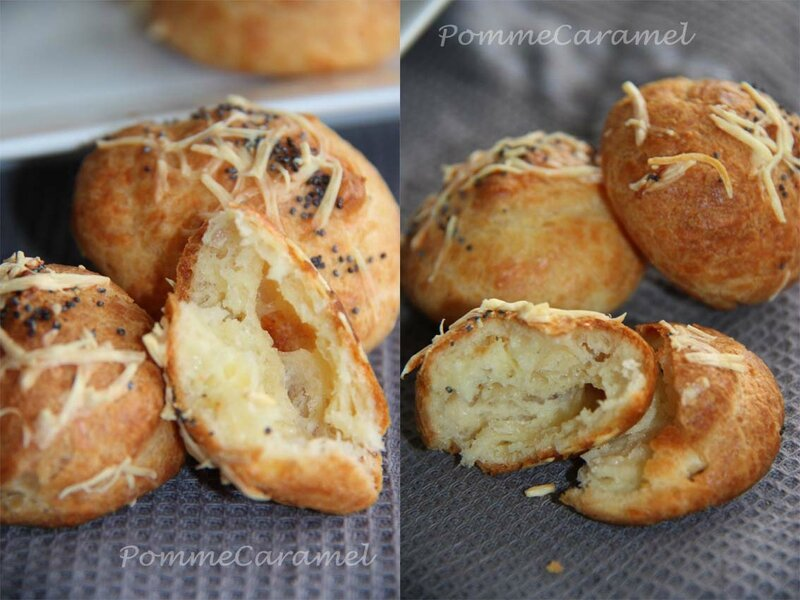 Gougeres Fromage3