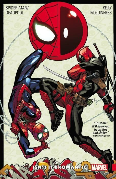 spiderman deadpool vol 1 isn't it bromantic TP
