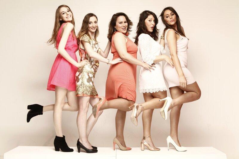 Anne-sophie, Marisha, Aurélie, Jessica et Virignie