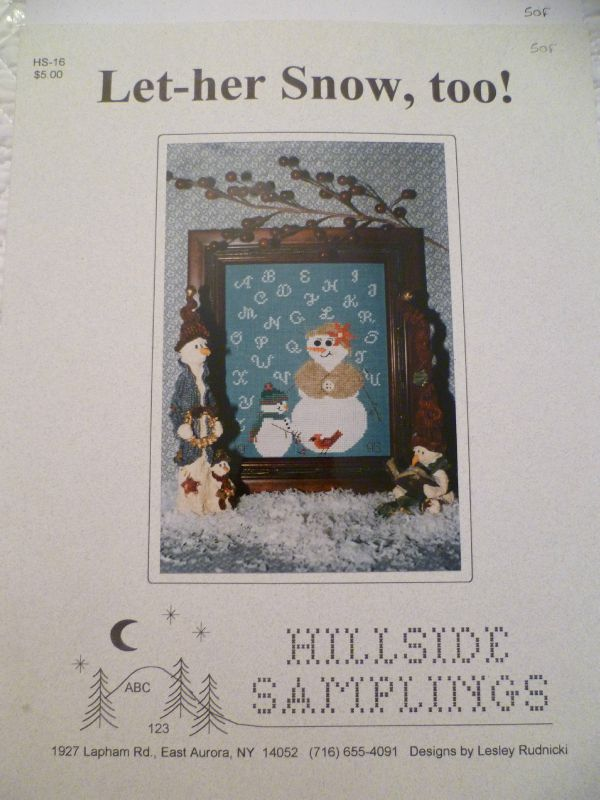 Grille 5:Hillside Samplings Let her snow 5 euros FP inclus
