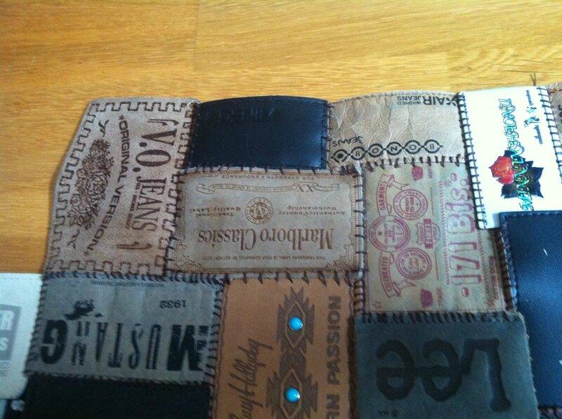 coussin jean + tapis 018