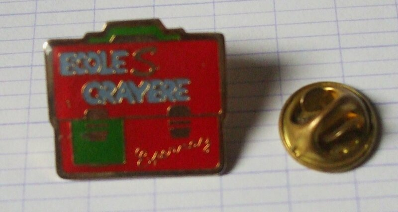 pin's crayère