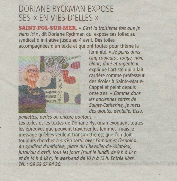 Article presse VDN