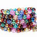 Bracelet coloré par louise indigo