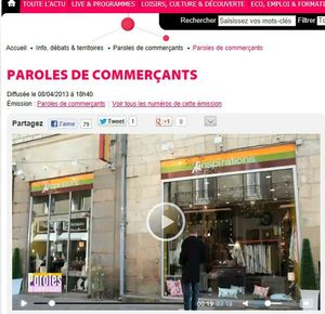 parole de commerant ext vitrine