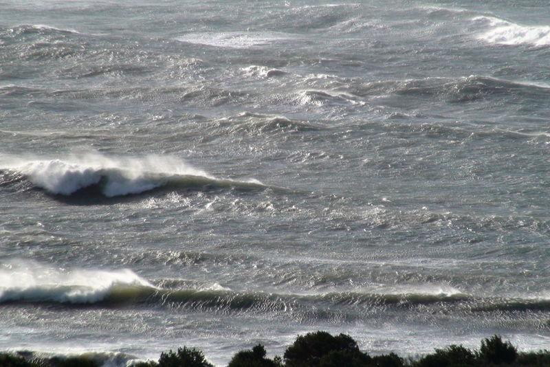 En regagnant le Bord, le Fond de la Baie - Tempête de NW