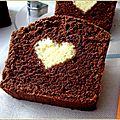 Gâteau choco coeur