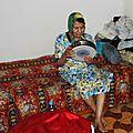 Amina chez elle