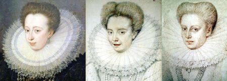 Portraits vers 1587-1590