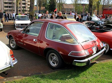 Amc pacer X hatchback 3 door sedan 1975 (Retrorencard avril 2011) 02