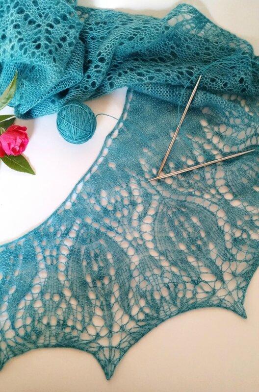 tulip shawl 13