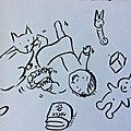 Bébé, jeux et chat