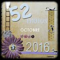 52 photos pour 2016: octobre