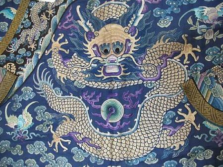 A_fine_blue_silk_ground_embroidered_dragon_robe2