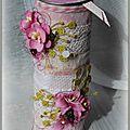 cylindre malle à fleurs