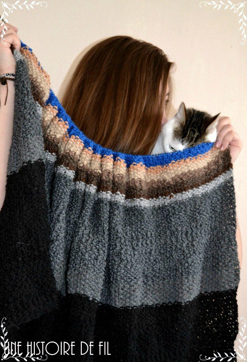 Sur mes aiguilles, ça tricote !