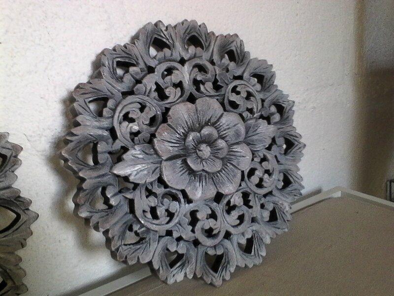 Tableau fleur bois patiné4_GF