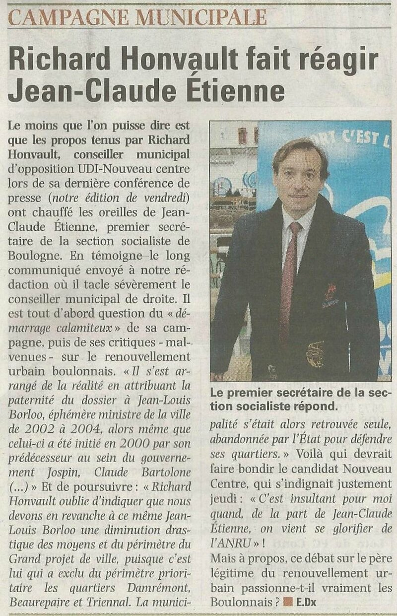 article VDN JC Etienne du 11112013