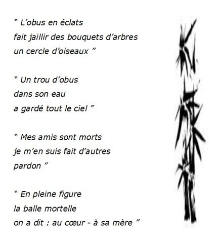 Poesie De Guerre Paroles Du Tipi