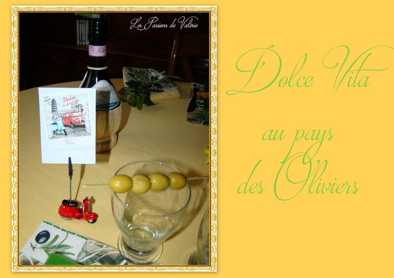 TABLE DOLCE VITA