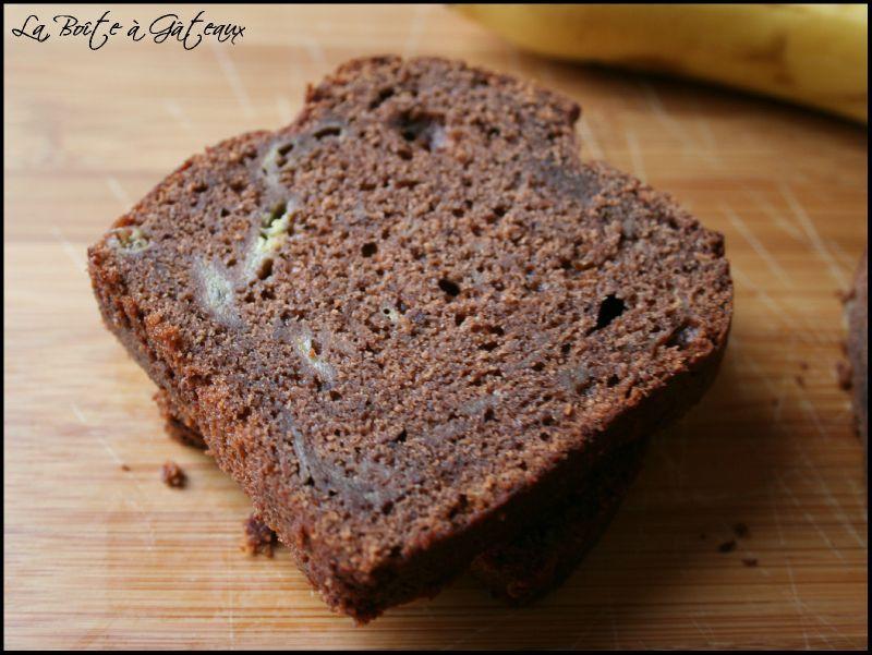 Gateau Banane Chocolat Cake Sophie