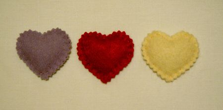Broches coeur