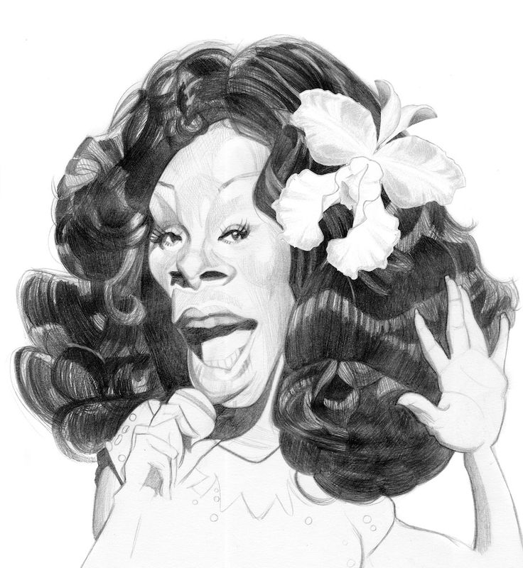 DONNA SUMMER by xavier Hourlier