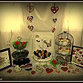 Sweet table valentine's day 2014