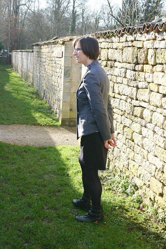 veste grise et mon petit bazar porté3