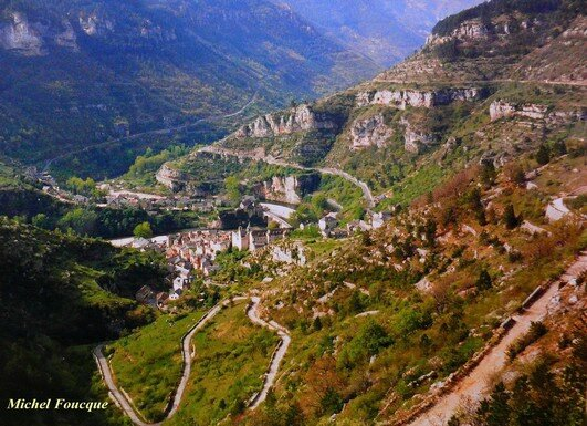 873) Traversée à vélo des Gorges du Tarn