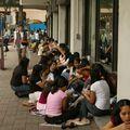 Journee de pause pour la communaute Philippine